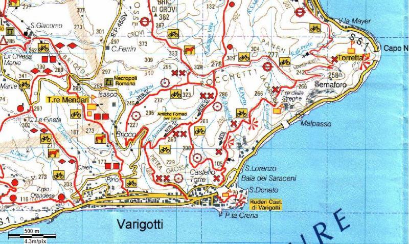 Varigotti Liguria Cartina Geografica.Le Spiagge Migliori Della Liguria Punta Crena A Varigotti Simply The Best Vagabondo