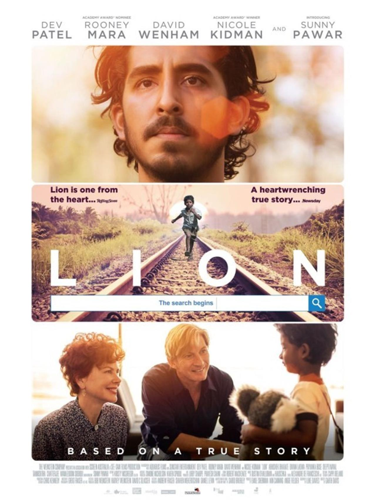 Image result for Lion la strada verso casa""